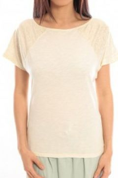 T-shirt Blune T-Shirt Pointilleuse PO-TF02E13 Écru(115471499)