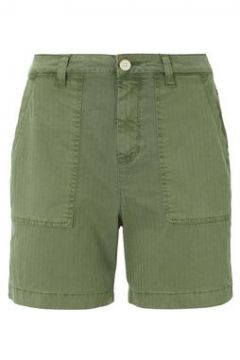 TOM TAILOR DENIM Damen Cargo Shorts , grün, Gr.XL(116973436)