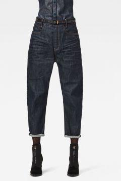 G-Star RAW Women C-Staq 3D Boyfriend Crop Jeans C Dark blue(126269198)