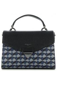 Sac à main Hexagona Petit sac à main rigide motif symétrique bleu(98459137)