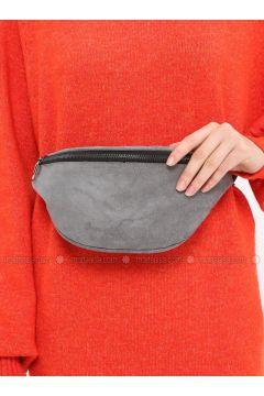 Gray - Clutch - Bum Bag - MOON(110332592)