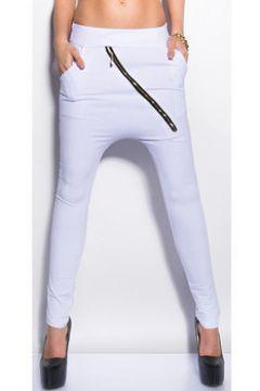 Chinots Cendriyon Pantalons Blanc Vêtements Femme(115481075)