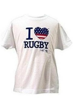 T-shirt Ultra Petita Tee-shirt - I love rugby USA -(115399231)