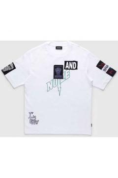 T-shirt enfant Diesel TJUSTWG 00J47P KYAPL(115628803)