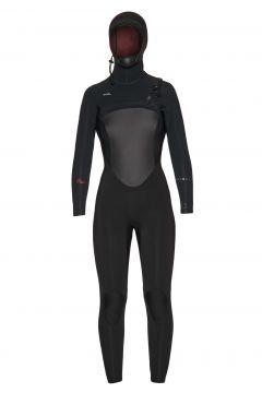 Xcel Infiniti 6/5mm Hooded Damen Neoprenanzug - Black(100273759)