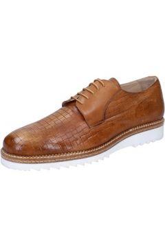Ville basse Fdf Shoes élégantes marron cuir BZ362(115398932)