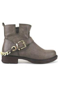 Boots Francescomilano bottines marron cuir AJ227(88517715)