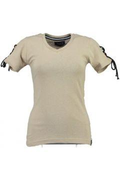 T-shirt Geographical Norway T-shirt Femme Jeline cassé(98731637)