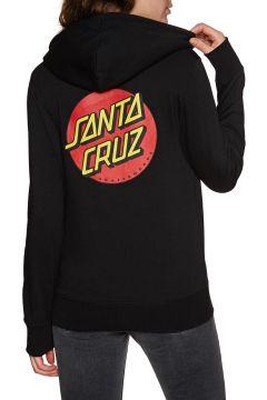 Santa Cruz Classic Dot Damen Kapuzenpullover - Black(100261396)