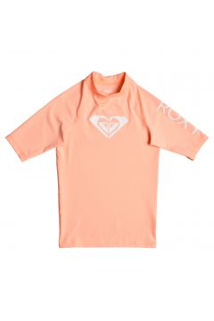 Roxy Whole Hearted Short Sleeve Mädchen Rash Vest - Souffle(100261148)