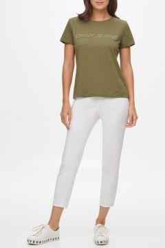 Dkny Jeans Logolu Kısa Kollu T-Shirt(124438262)