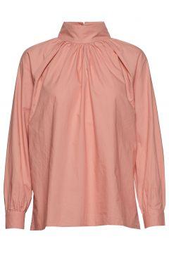 Sand T-Neck Shirt Crisp Bluse Langärmlig Pink MOSHI MOSHI MIND(114152182)