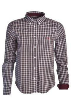 Chemise Gant Chemise à carreaux bordeaux Tartan pour femme(115387612)
