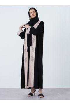 Abaya AL SHEIKHA Poudre / Noir(119071256)