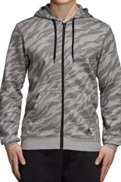 Sweat-shirt adidas ESS AOP GIACCHETTO GRIGIO FELPATO(115477781)