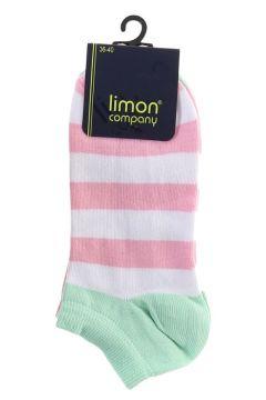 Limon 2\'li Pembe Soket Çorap(113958159)