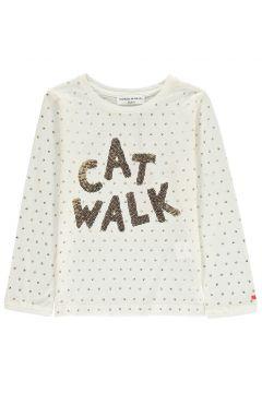 T-Shirt Cat Walk mit Pailletten(113612293)