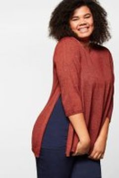 Sheego Pullover Sheego rostrot(116400402)