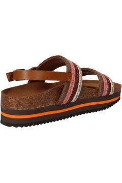Sandales 5 Pro Ject sandales rose textile marron AC592(115393619)
