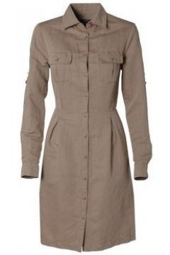 Robe Gant Robe beige Safari pour femme(127928372)