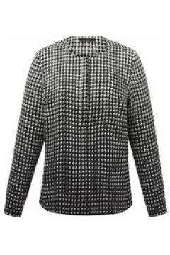 Bluse aus 100% Seide Emilia Lay schwarz/weiß(111503827)