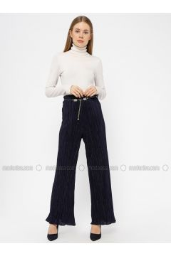 Navy Blue - Pants - Le Mirage(110338964)