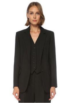 Academia Kadın Siyah Tek Düğmeli Ceket 42(121734135)