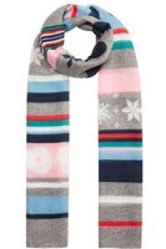 """PEANUTS"" XL-Schal mit Snoopy & Co. aus recyceltem Polyester Codello grey(124101411)"