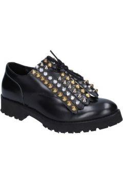 Chaussures Olga Rubini élégantes noir cuir BX795(115442664)