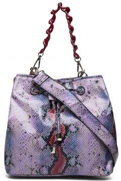Nellish Snake Bags Bucket Bag Lila HVISK(114165807)