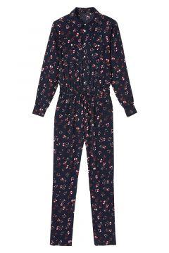 Mono pantalón estampado de flores(118159469)