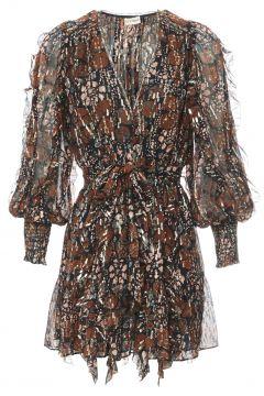 Kleid aus Seide Natalia(117292755)