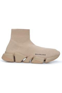 Balenciaga Kadın Speed Bej Logolu Çorap Formlu Sneaker 36 EU(126848200)