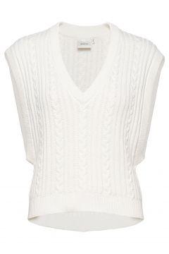 Rawangz Waistcoat Hs20 Knitwear Vests-indoor Weiß GESTUZ(114157345)
