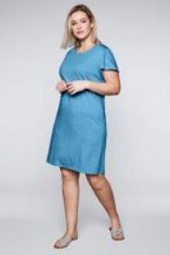 Sheego Jerseykleid Sheego himmelblau(111503886)