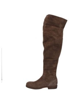 Cuissardes Vic bottes marron daim AE871(115399580)