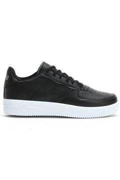Ayakkabı Modası Siyah Beyaz Kadın Spor Ayakkabı(116812468)