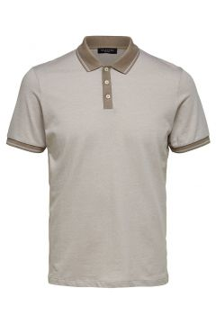 SELECTED Coupe Droite - Polo Men beige(109071902)