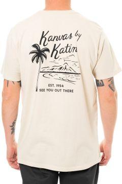T-Shirt à Manche Courte Katin Vintage Beachside - Wool(114065439)
