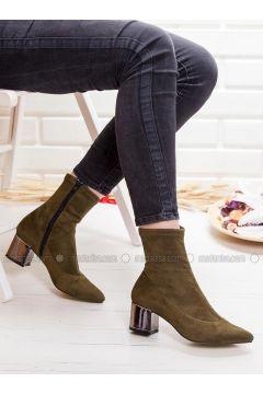 Khaki - Boot - Boots - Ayakkabı Frekansı(110331427)