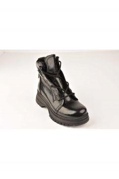Mehtap Kadın Siyah Rugan Bot Ayakkabı-20k 206(123307443)