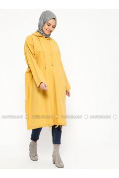 Mustard - Unlined - Topcoat - Laruj(110319704)