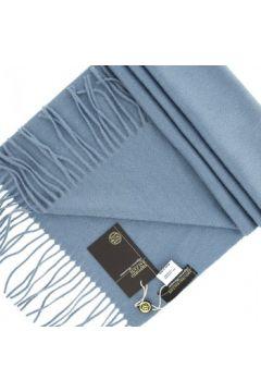 Echarpe Emporio Balzani echape cachemire bleu(115424440)