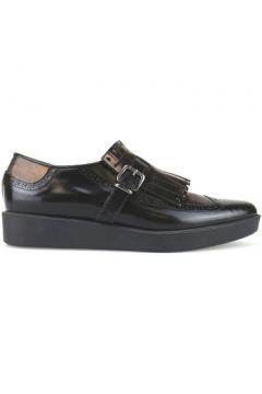 Chaussures Jeannot élégantes noir bronze cuir AJ95(115399683)