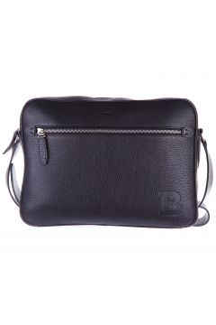 Men's leather cross-body messenger shoulder bag capa(118073770)