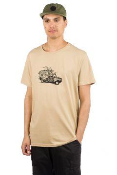 Rip Curl Van Surf T-Shirt bruin(85192350)