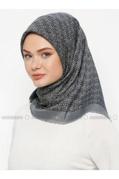 Multi - Printed - Wool Blend - Scarf - Karaca Eşarp(110330133)