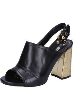 Sandales Francesco Sacco sandales noir cuir AB735(88470104)
