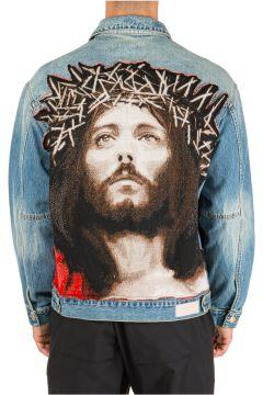 Men's denim outerwear jacket blouson jesus(118298556)