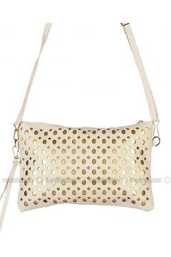 Ecru - Shoulder Bags - AKZEN(110314170)